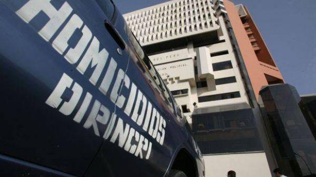 Casos Paino y Choy serán asumidos por división de Homicidios de la PNP