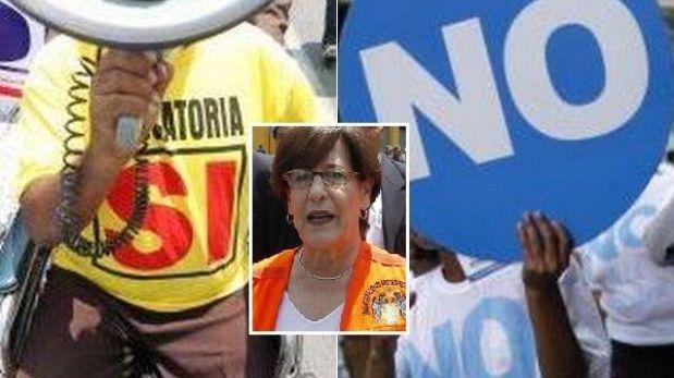 Revocación a Villarán: El SÍ y el NO sufren ligera caída en intención de voto