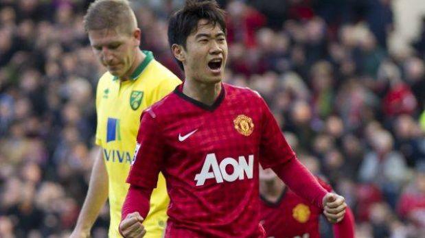 Manchester venció 4-0 al Norwich y llega entonado al partido contra el Madrid