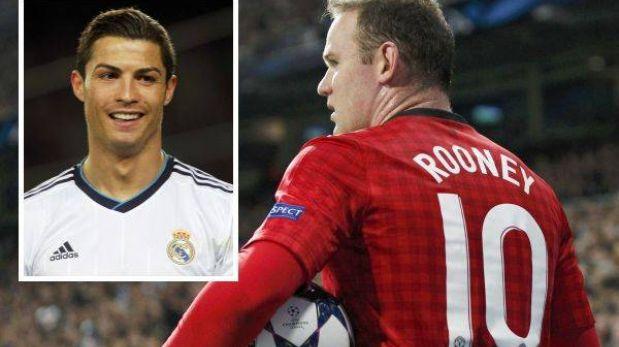 """Wayne Rooney: """"Cristiano es el jugador que más respeto del Real Madrid"""""""