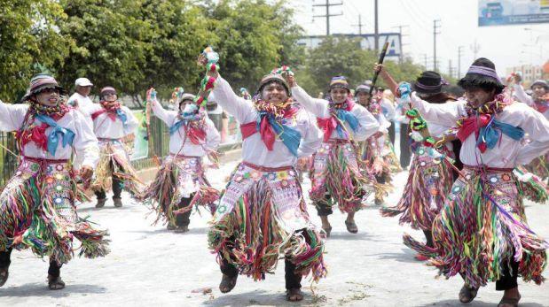 FOTOS: danzas carnavalescas del Perú deleitaron a vecinos de Lima norte