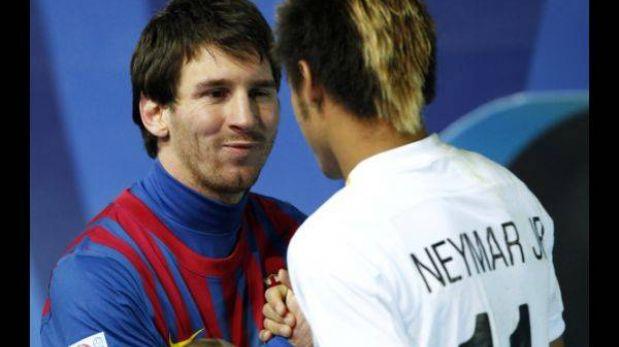 """Neymar: """"¿Y si yo dijera que Messi viene al Santos?"""""""