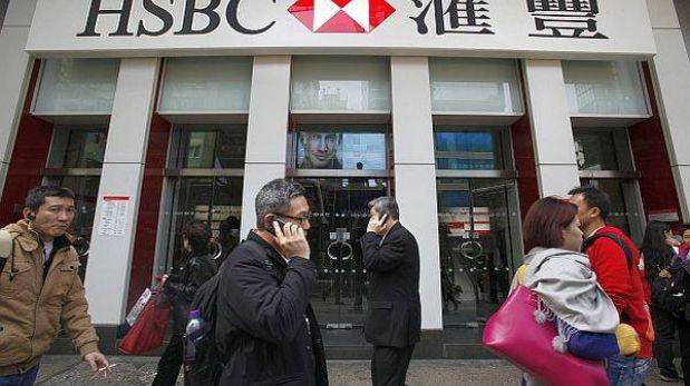Ganancia global del HSBC retrocedió 17% por multas millonarias en el 2012
