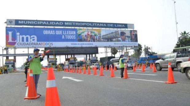 Incremento de peajes en Lima será a condición de obra en próximos años