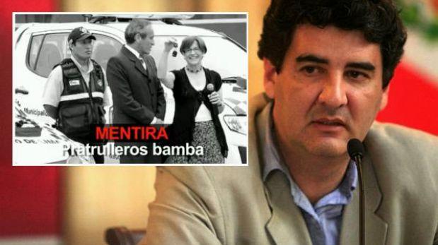 """Zegarra sobre publicidad del Sí en TV: """"Se hacían los pobrecitos… se les cayó la careta"""""""