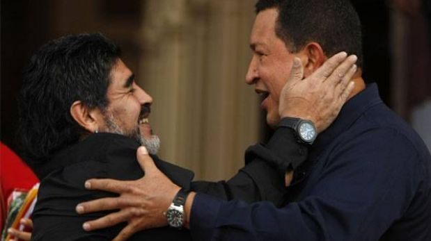 Hugo Chávez, el amigo de Maradona que revivió el deporte en Venezuela y tuvo un estadio en Libia