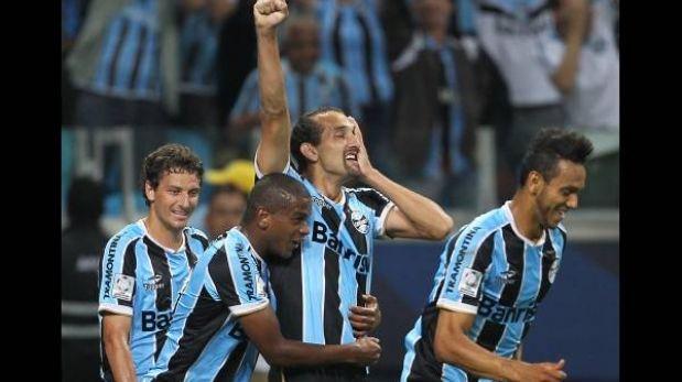 Libertadores: Gremio goleó 4-1 al Caracas y asume liderato del Grupo 8