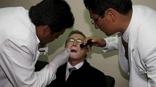 La comisión de indulto ya tiene informe médico de Alberto Fujimori