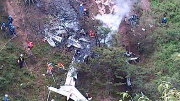La Libertad: caída de avioneta dejó nueve fallecidos en provincia de Pataz