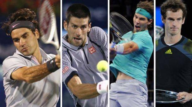 Indian Wells reúne desde mañana a Federer, Djokovic, Nadal y Murray