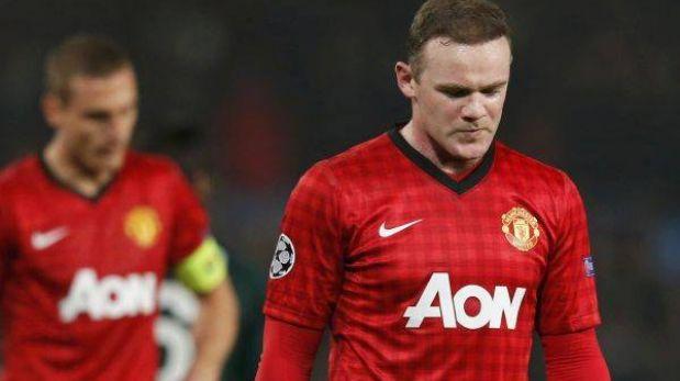 Manchester United estaría evaluando desprenderse de Wayne Rooney