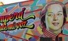 VIDEO: imágenes de Chabuca Granda llenan de color las calles del centro de Lima