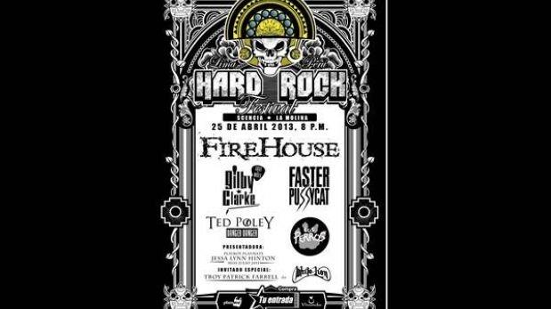 Ex Guns N' Roses tocará en Lima en el primer Hard Rock Festival