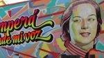 VIDEO: imágenes de Chabuca Granda llenan de color las calles del centro de Lima - Noticias de luis cortez