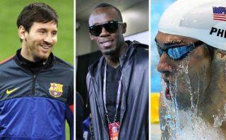 Lionel Messi, Usain Bolt y Michael Phelps compiten mañana por los  premios Laureus