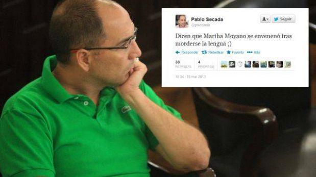 """Pablo Secada: """"Martha Moyano se envenenó tras morderse la lengua"""""""