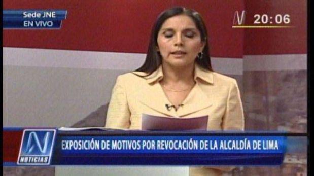 """Patricia Juárez: """"El pueblo de Lima la va a revocar, señora Villarán"""""""