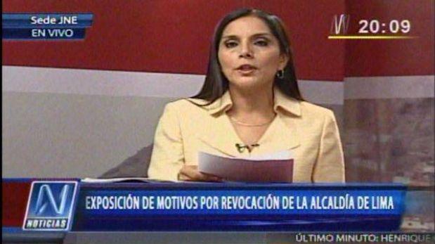 """Patricia Juárez: """"El municipio no es solo Villarán, se acabó el tiempo de los señores feudales"""""""