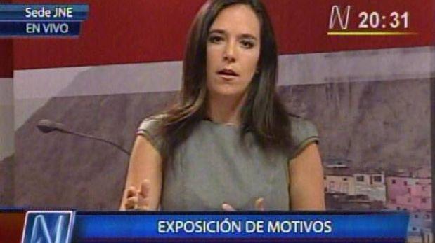 """Marisa Glave: """"Esto no puede parar por intenciones de quienes quieren volver a la municipalidad"""""""