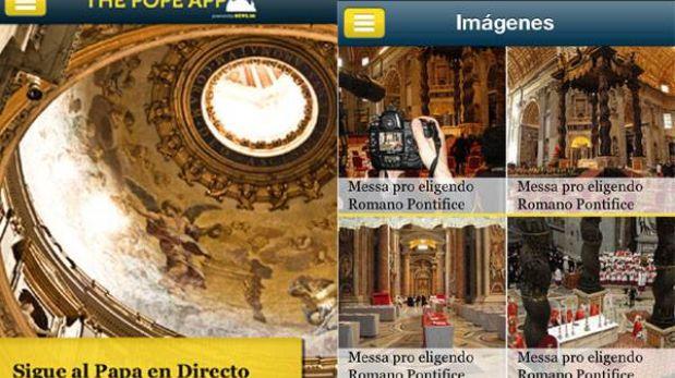 The Pope App: una aplicación para seguir la elección del Papa