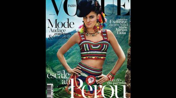 """Mario Testino luce el Perú en la edición francesa de la revista """"Vogue"""""""