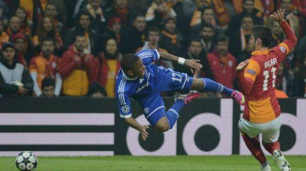 Schalke cayó 3-2 ante el Galatasaray y quedó fuera de la Champions