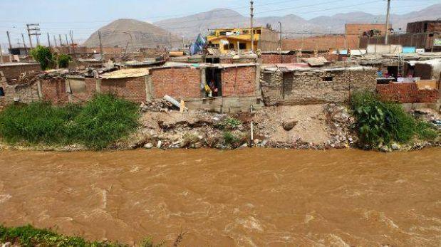 Lluvias en cuencas de ríos Rímac y Chillón podrían generar deslizamientos