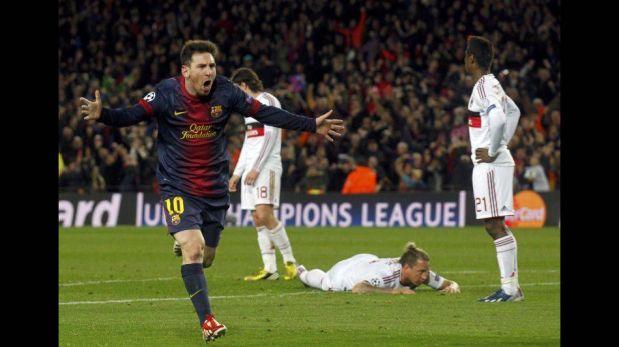 FOTOS: lo mejor del Barcelona 4-0 Milan y el show de Lionel Messi