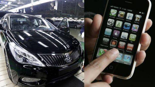 Los smartphones reemplazarán pronto a llaves tradicionales de los autos
