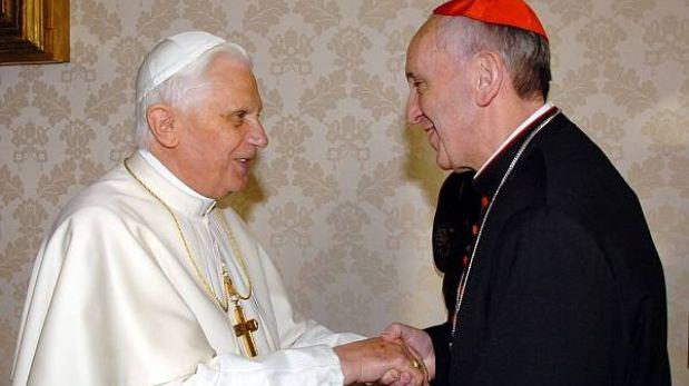 Bergoglio, el cardenal que quedó segundo en la elección que ganó Benedicto XVI