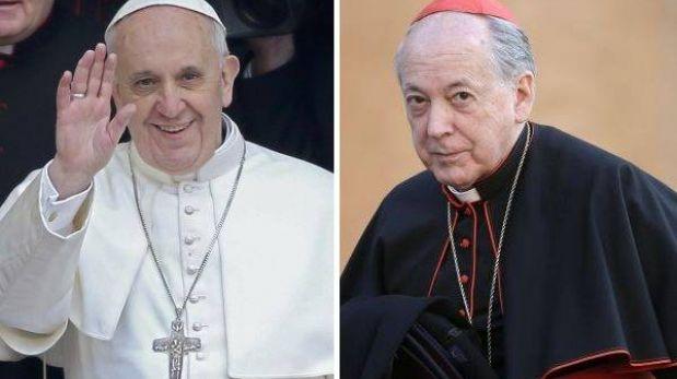 Papa Francisco y Cipriani sostuvieron breve conversación tras la elección