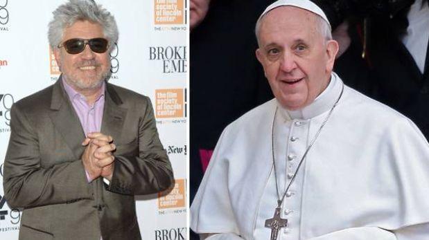 Pedro Almodóvar aconseja al Papa que acepte otras formas de matrimonio