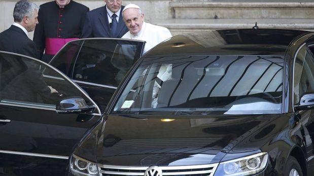 FOTOS: así pasó el papa Francisco sus primeras horas de Sumo Pontífice