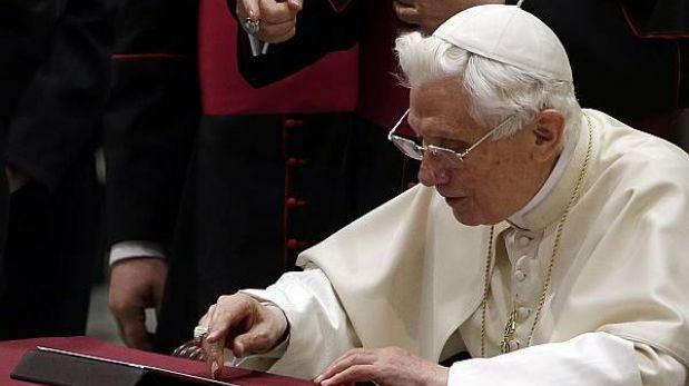 Benedicto XVI vio la elección del papa Francisco por televisión