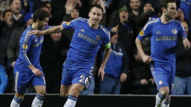 Europa League: Chelsea y Lazio completaron los ocho clasificados a los cuartos de final