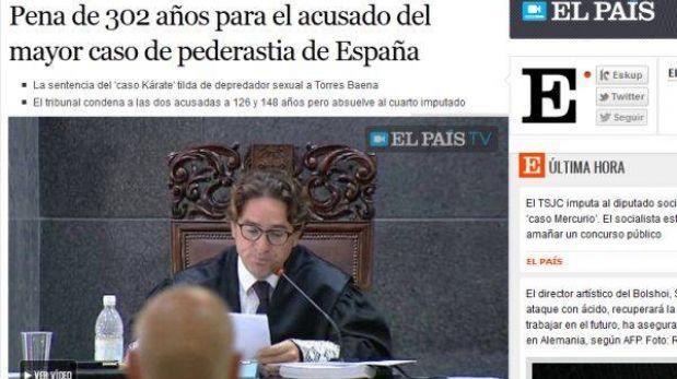 El mayor pederasta de España fue condenado a 302 años de cárcel