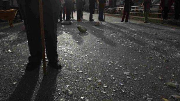 Pataz: restos de mineros muertos son velados en medio de tensión