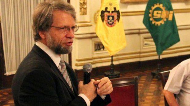 Antanas Mockus dio charla en Palacio Municipal de Lima
