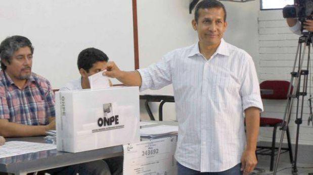 Ollanta Humala se olvidó del DNI y su voto se retrasó más de una hora