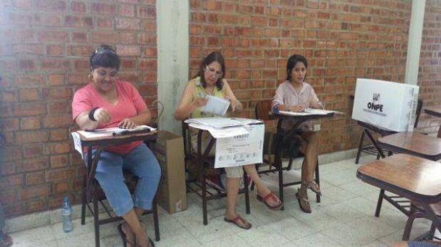 Ausentismo no afectará validez de la revocación en Lima, aclara JNE