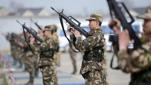 China es uno de los cinco países que exportan más armas en el mundo