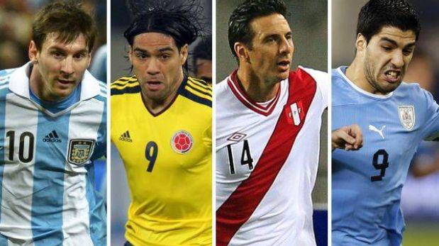 Guía TV de la fecha 11 de las Eliminatorias Brasil 2014 en Sudamérica