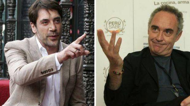 """Javier Bardem es """"la primera opción"""" para encarnar al chef Ferran Adrià"""