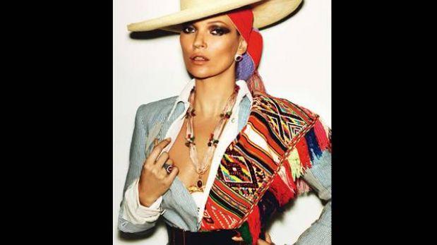 Kate Moss posa con indumentaria peruana en Vogue Francia