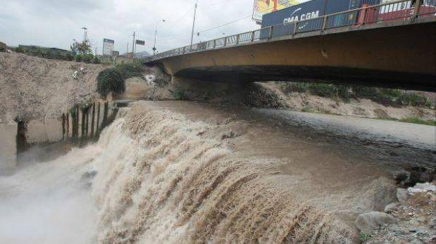 Alto caudal del río Rímac continuará hasta la primera semana de abril