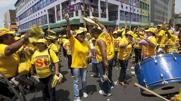 Solidaridad Nacional y el APRA no precisan cuándo rendirán cuentas de campaña del Sí