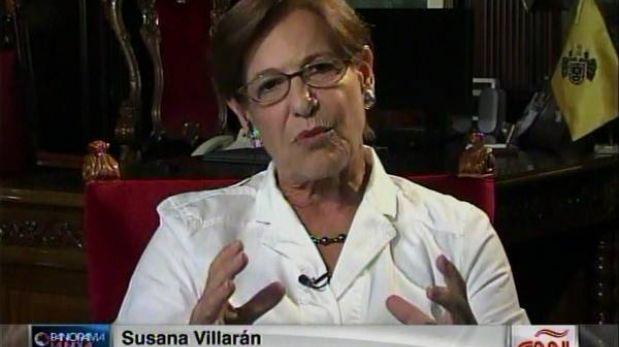 """Susana Villarán pide """"más candados"""" para eventuales revocatorias"""