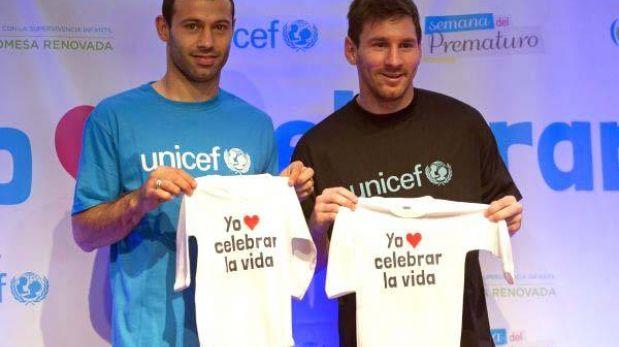 """Messi y su lado humanitario: """"Es fundamental que un niño tenga buena infancia"""""""