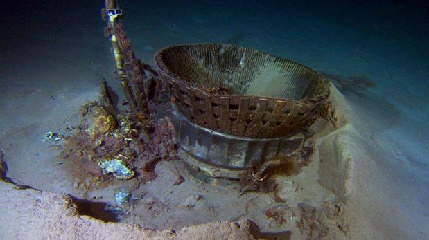 FOTOS: así recuperaron los motores de la misión que llevó al hombre a la Luna