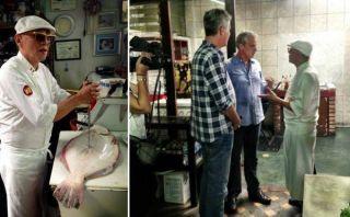 Anthony Bourdain visitó al legendario cebichero Javier Wong